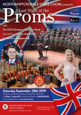 Northampton Male Voice Choir - Last Night at the Proms - 28 Sep 19